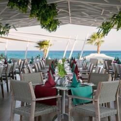 Asterias Beach Hotel Al Mare Restaurant